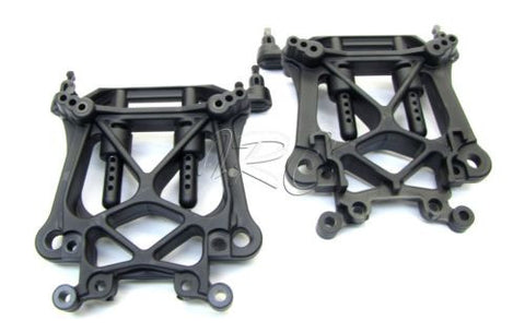 SAVAGE X SS TOWERS (F/R shock & Adjustable Body mounts XL F4.6 Flux 861 HPI