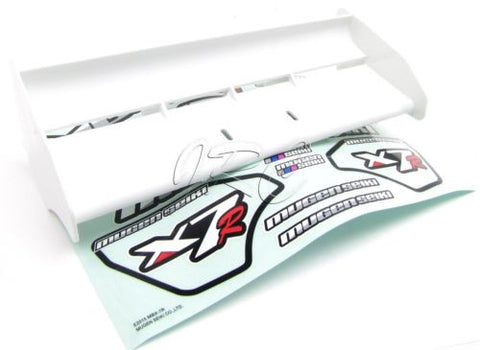 MBX7r WHITE WING (spoiler buggy e1038 & MBX-7r Decal sticker Sheet eco MUGEN seiki E2015