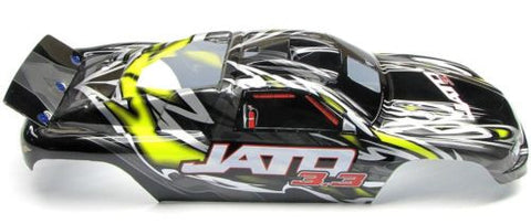Jato 3.3 BODY shell (YELLOW, BLACK, GREY & Decals, Traxxas #5507
