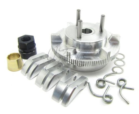Losi XXL-2 FLYWHEEL clutch set -shoes, springs, nut .31 collet Dynamite LOS04002