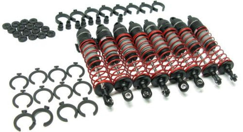 T-Maxx 3.3 SHOCKS  (set 8 spacers assembled dampers 2.5 classic 49077-3 Traxxas
