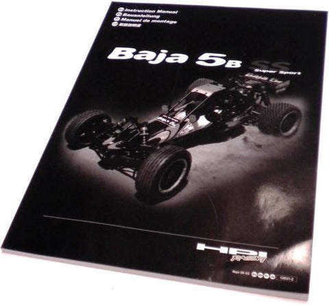 BAJA 5B SS 26cc INSTRUCTION MANUAL Assembly)  HPI 112457
