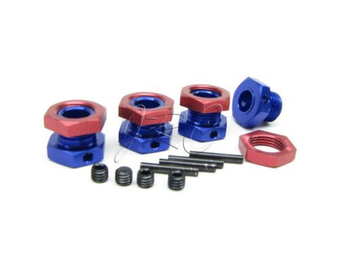 Nitro Mad Force Kruiser WHEEL HEX Hubs 17mm hexes 2.0 kyosho VE KYO31229B