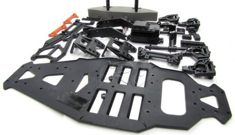 SPRINT 2 hpi PLASTIC SET (chassis, hinge pins, tray, shock towers bumpers 106168