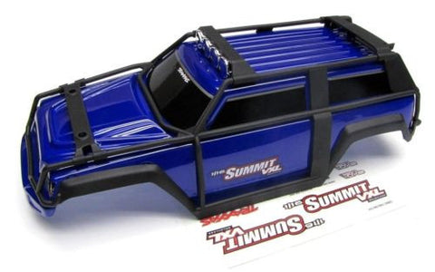 1/16 Summit BODY (BLUE Shell Cover & Decals Traxxas #72076