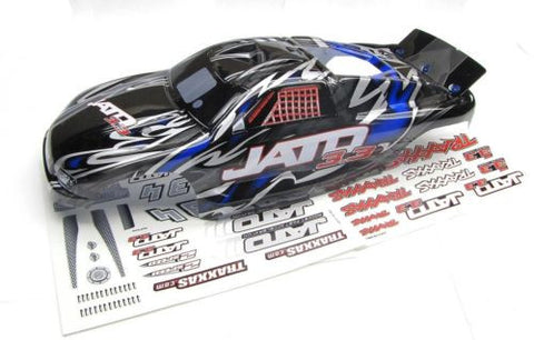 Jato 3.3 BODY shell (BLUE , BLACK, GREY & Decals, Traxxas #5507