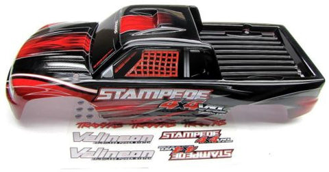 Stampede 4x4 VXL BODY Shell (RED, brushless & Includes decal ) Traxxas 67086-3