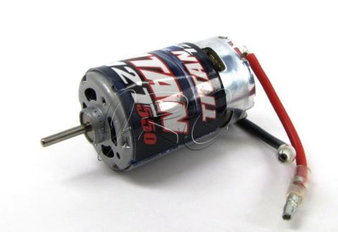 Skully/Craniac MOTOR brushed titan 12T 550 slash Traxxas Monster Jam 36064-1