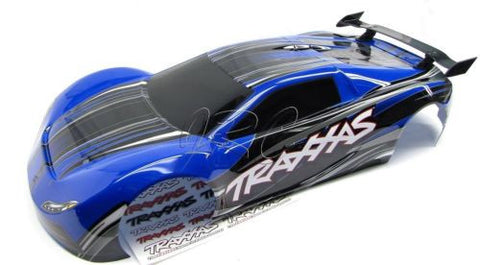 XO-1 BODY shell DARK BLUE (new painted cover & decal Traxxas 6407