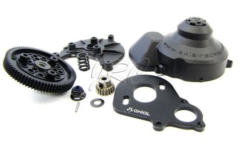 Axial Poison Spyder Wraith SPUR & Slipper (Pinion 80t 48p Rock Racer AXI90031