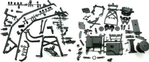 BAJA 5B SS HUGE PLASTIC PARTS Lot (Roll Cage, boxes) NEW  HPI 112457