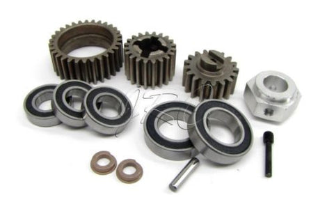 BAJA 5B SS GEARING AND BEARING SET  (set screw)  HPI 112457