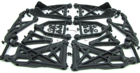 BAJA 5B SS SUSPENSION A-ARMS & Rear Shock Towers 85402 85400) HPI 112457