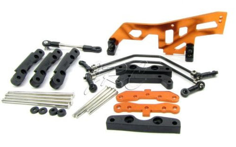 TROPHY Truggy SUSPENSION set Hinge pins braces Sway Bar Tie (HPI flux 107018