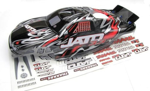 Jato 3.3 BODY shell (RED , BLACK, GREY & Decals, Traxxas #5507