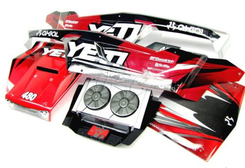 1/8 Yeti XL BODY Panels (cover shell Monster Buggy AX31039 Painted Axial AX90032