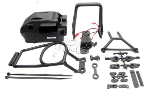 Savage X 4.6 ROLL BAR & BATTERY/RECEIVER BOX 85239 HPI 109083