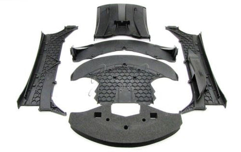 XO-1 LOWER PLASTIC SET & HIGH SPEED SPLITTER Traxxas 64077-3