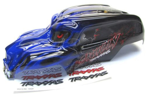 Skully BLUE BODY cover Shell (1/10 scale craniac Traxxas Monster Jam 36064-1
