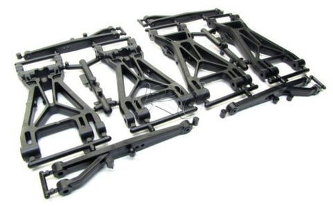 SAVAGE X SS A-ARMS (suspension front & rear lower x 4.6 XL Flux 85238 861 HPI