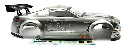 SPRINT 2 hpi SILVER MUSTANG GTR BODY shell Cover  (Flux 106168)