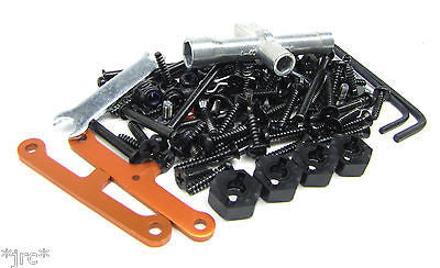 RS4 SCREWS, Tools & hardware set, hinge pins braces (HPI nitro 3 evo rtr 112619