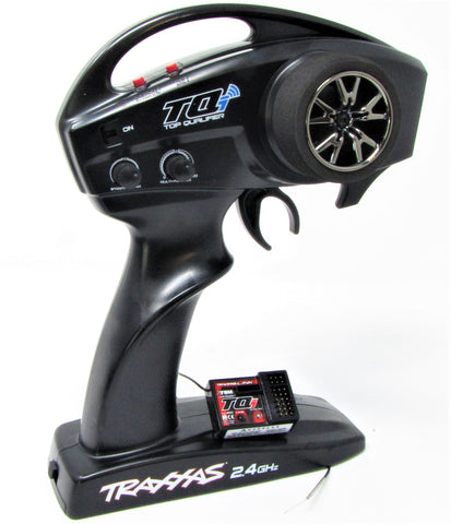 * Traxxas 2ch 2.4ghz Radio Set (Bluetooth enabled transmitter 6528 & TSM Receiver 6533, XO-1 E-revo Rustler Bandit Stampede  57046-4
