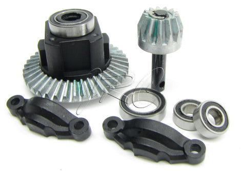 Axial SMT10 Grave Digger Front/Rear DIFFERENTIAL Max-D wraith yeti 1/10 AX90055