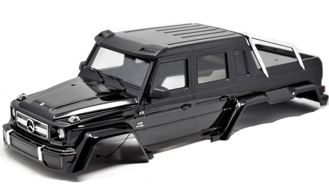 TRX-6x6 Mercedes-Benz - BODY Cover BLACK Shell Factory Painted Traxxas 88096-4