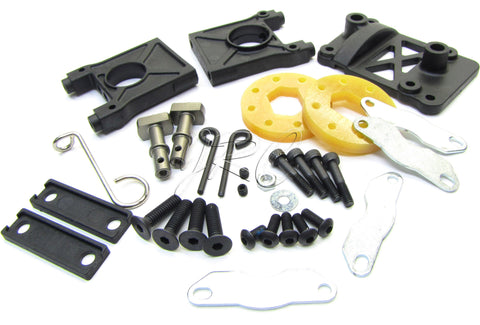 Hot Bodies D8T - BRAKE Set (disc center diff bulkhead) Tessmann 113391 new Trugg