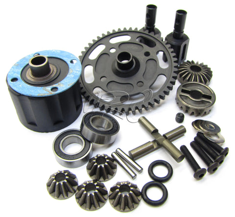 Hot Bodies D8T - CENTER DIFFERENTIAL (lightweight 50t Tessmann 113391 new Truggy