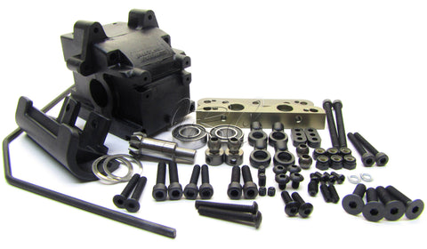 Hot Bodies D8T - FRONT SUSPENSION (arm mount sway gearbox Tessmann 113391 Truggy