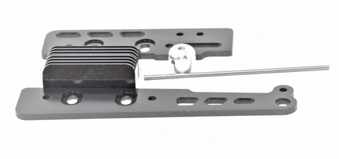 Kyosho Inferno MP10 - ENGINE MOUNTS (pipe mounting) plate gunmetal KYO33015B