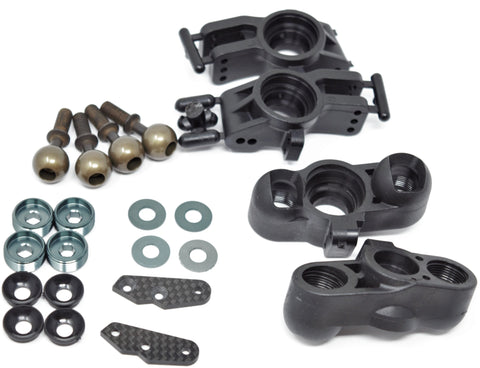 MBX8-WE FRONT & REAR UPRIGHTs (knuckles, hub carriers pillowball MUGEN E2025