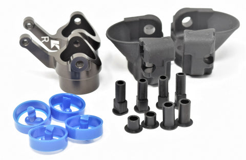 Kyosho Inferno MP10 - FRONT HUB CARRIERS Aluminum Knuckle UPDATED KYO33015B