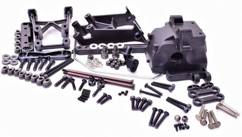 Hot Bodies D819 - REAR SUSPENSION (arm mount sway bulkhead HBS204450 Buggy