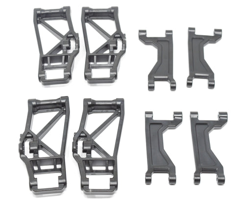 1/10 MAXX A-ARMS (Suspension black Front Rear Upper Lower Traxxas 89076-4