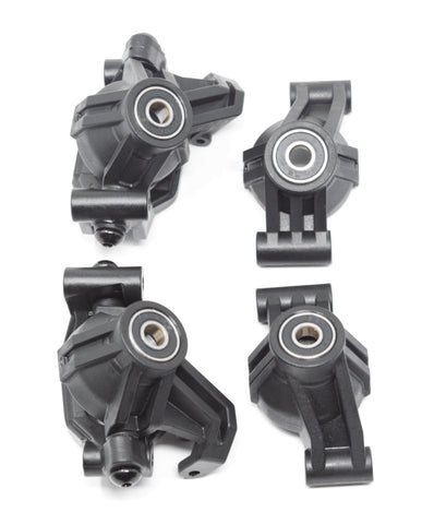 1/10 MAXX Front/Rear Hub Carriers Caster Steering Blocks Traxxas 89076-4