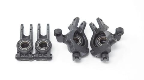 Losi TENACITY PRO - Front Spindles, Carriers & Hubs set, bearings Buggy LOS03027