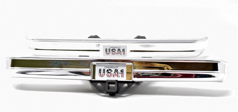 TRX-4 Chevy BLAZER - BUMPERS (Front rear painted Chrome trail Traxxas 82076-4