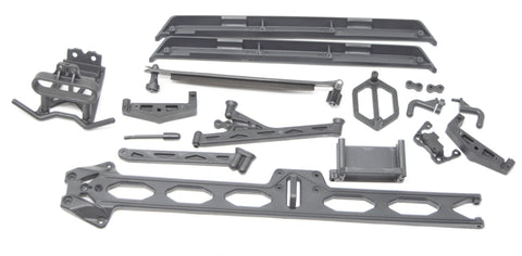 Losi TENACITY PRO - Side Guards, Bumper, chassis brace desert Buggy LOS03027