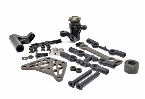 Kyosho Inferno MP10 - STEERING SET (BELL CRANK servo saver plate KYO33015B new