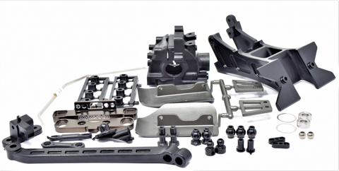 Kyosho Inferno MP10 - REAR SUSPENSION PARTS sway CNC Rear Toe TKI2 KYO33015B