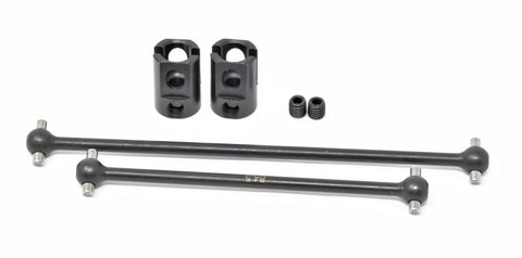 MBX8-WE CENTER DRIVESHAFTS and cups (E2261 E2262 front rear shafts MUGEN E2025