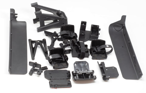 KRATON 8S - Side Guards, Battery Tray, roll tower Body Post Arrma 1/5 AR110002