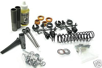 BAJA 5B SS FRONT SHOCKS 87561 (dampers PISTON rods boots)  HPI 112457
