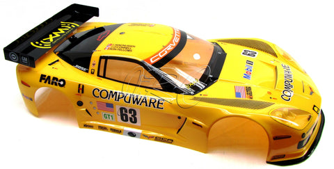 Kyosho Inferno GT2 RTR BODY SHELL (Yellow Corvette  KYO IGB105