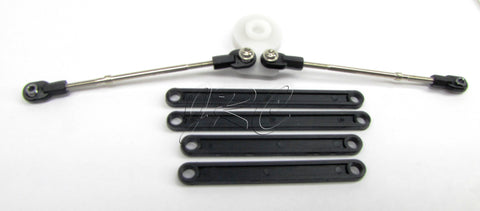 BIGFOOT STEERING Set, Tie Rods Camber links (Traxxas skully craniac Monster 36084-1