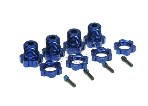 Nitro Revo 3.3 Splined 17mm HEX HUBS 5353X (nuts, 5309 Traxxas