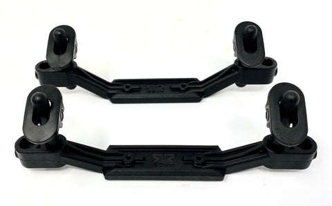 Arrma FELONY 6s - Body Mounts, Posts 32mm 20mm offset swivel ARA7617V2